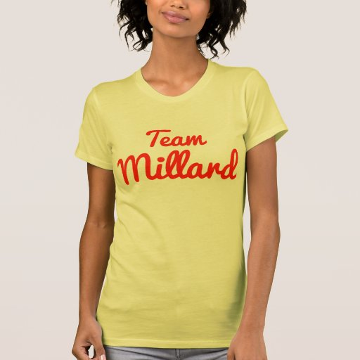 Equipe Millard Camiseta