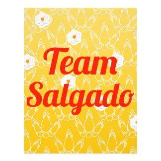 Equipe Salgado Panfleto
