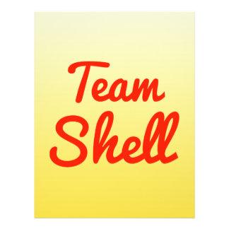 Equipe Shell Panfletos Personalizado
