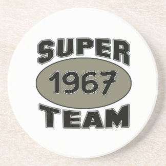 Equipe super 1967 porta copos de arenito
