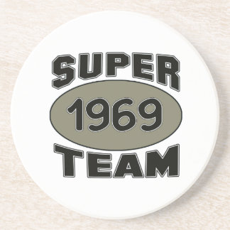 Equipe super 1969 porta copos de arenito