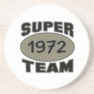 Equipe super 1972 porta copos de arenito