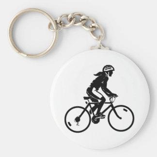 Equitação da bicicleta chaveiro