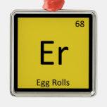 Er - mesa periódica da química do aperitivo de Rol Enfeites Para Arvore De Natal