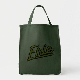 Erie no amarelo bolsas de lona