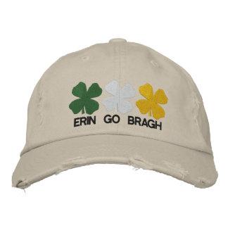 Erin vai chapéu bordado Bragh Boné Bordado