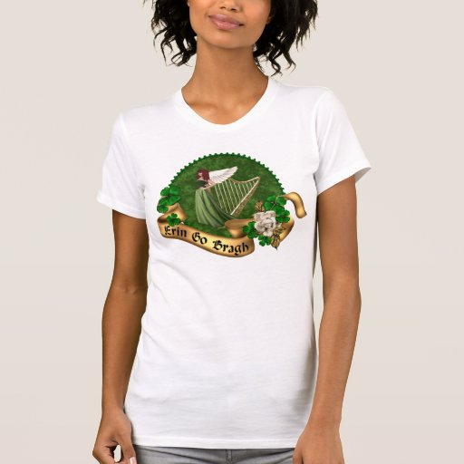 Erin vai irlandês de Bragh T-shirts