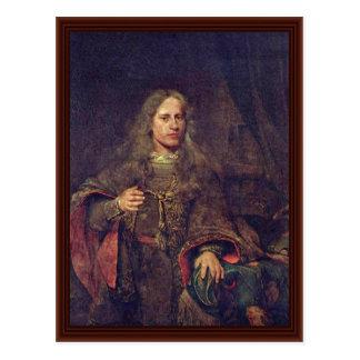 Ernestus Van Beveren (1660-1722) Cartão Postal
