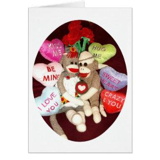 Ernie o cartão do dia dos namorados do amor do