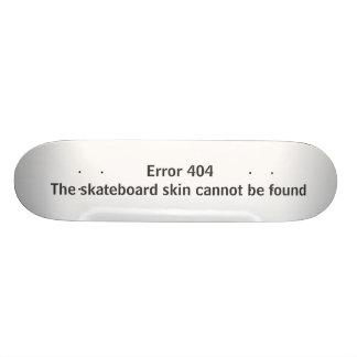 Erro 404 - A pele do skate não pode ser encontrada