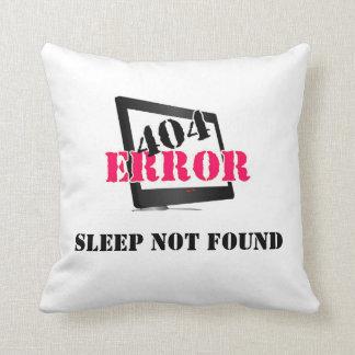 Erro 404 travesseiro