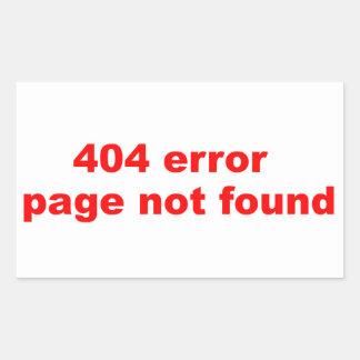 erro 404 adesivo
