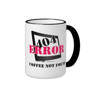 Erro 404: Café não encontrado Canecas