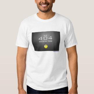 Erro 404 camiseta