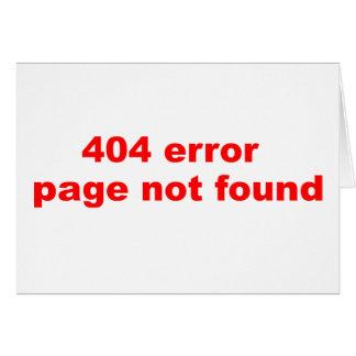 erro 404 cartao