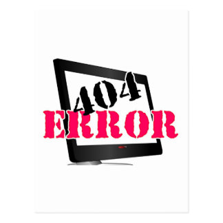 Erro 404 cartoes postais