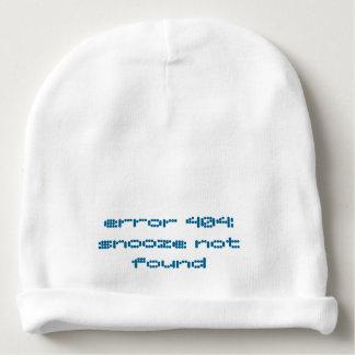 """""""Erro 404: chapéu bonito não encontrado do bebê do Gorro Para Bebê"""