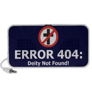Erro 404 Deidade não encontrada Caixinha De Som Para iPod