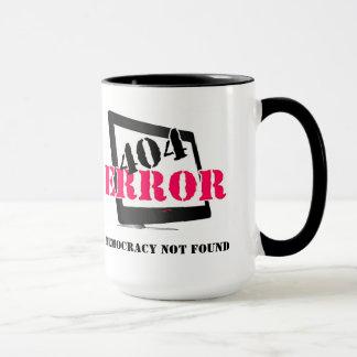 Erro 404: Democracia não encontrada