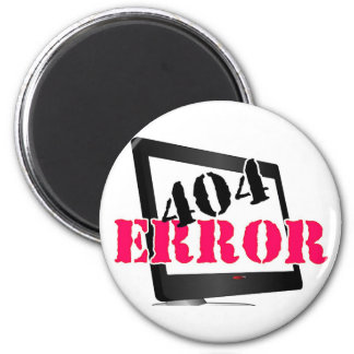 Erro 404 ima de geladeira