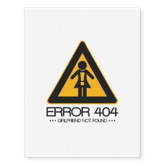 ERRO 404 - Namorada não encontrado