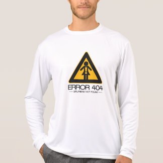 ERRO 404 - Namorada não encontrado Camiseta