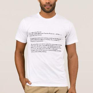 Erro 404--Não hypertext 2068 do RFC de FoundFrom Camiseta