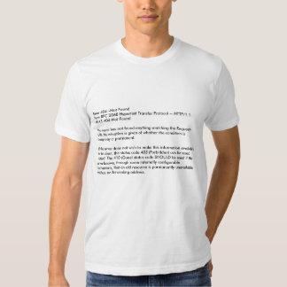 Erro 404--Não hypertext 2068 do RFC de FoundFrom T-shirts