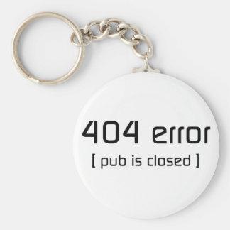 erro 404 - o bar é fechado chaveiros