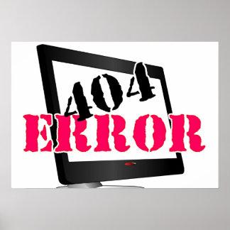 Erro 404 poster