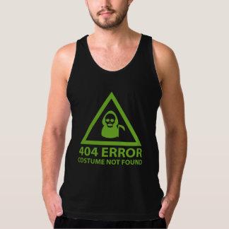 Erro 404: Traje não encontrado Regata