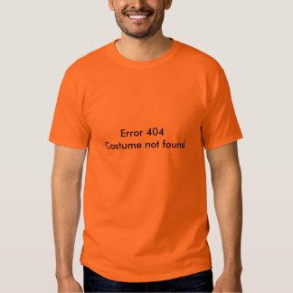 Erro 404: Traje não encontrado T-shirt