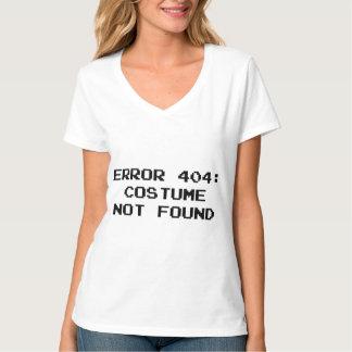 Erro 404: Traje não encontrado Tshirts