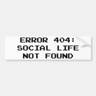 Erro 404 Vida social não encontrada