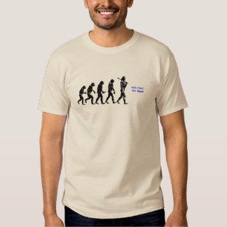erro da evolução humana 404 do humor t-shirts