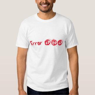 Error 404 tshirts