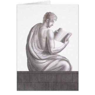Erudito de Pompeia - cartão