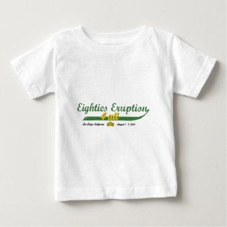 Erupção 4 todos dos anos 80 camiseta