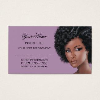 Erva da lavanda - nomeação da beleza cartão de visitas