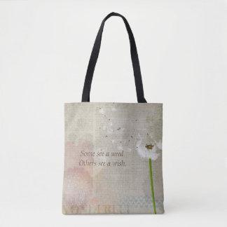 Ervas daninhas & bolsa/bolsa dos desejos (papel de bolsa tote