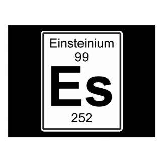 Es - Einsteinio Cartão Postal