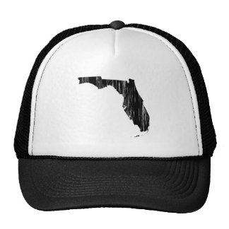Esboço afligido do estado de Florida Boné