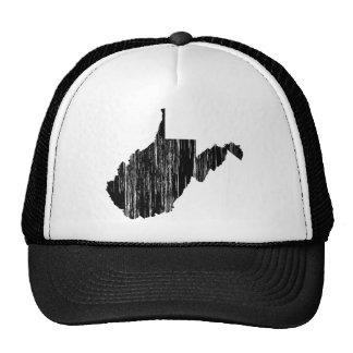 Esboço afligido do estado de West Virginia Boné