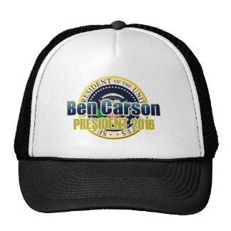 Esboço Benjamin Carson para o presidente Boné