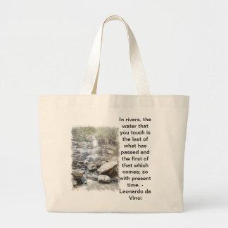Esboço da cachoeira bolsas de lona