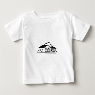 Esboço da casa t-shirt