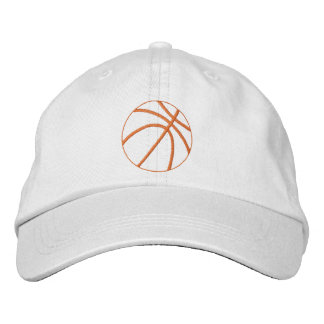 Esboço do basquetebol boné bordado