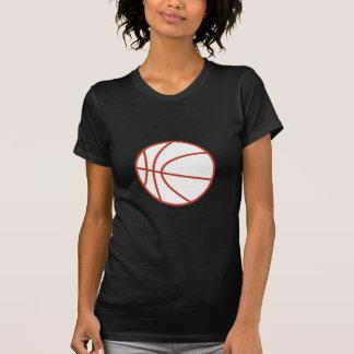 Esboço do basquetebol camiseta