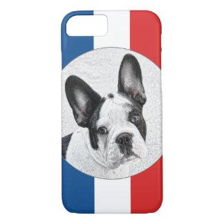 Esboço do buldogue francês capa iPhone 7