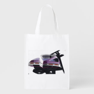 Esboço do carro vintage (44) Riviera 2 Sacola Reusável
